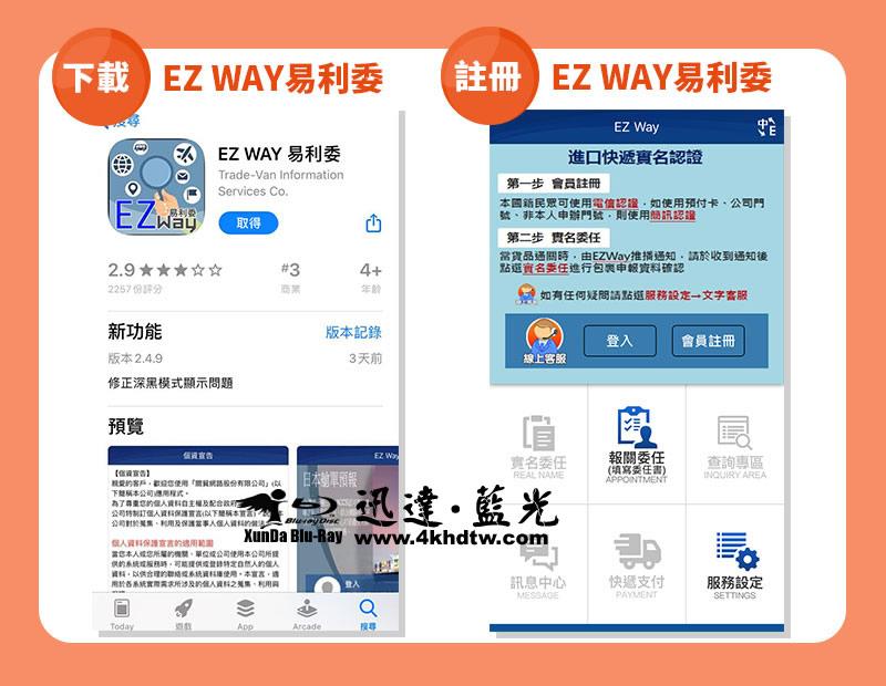 EZ WAY易利委下載 註冊